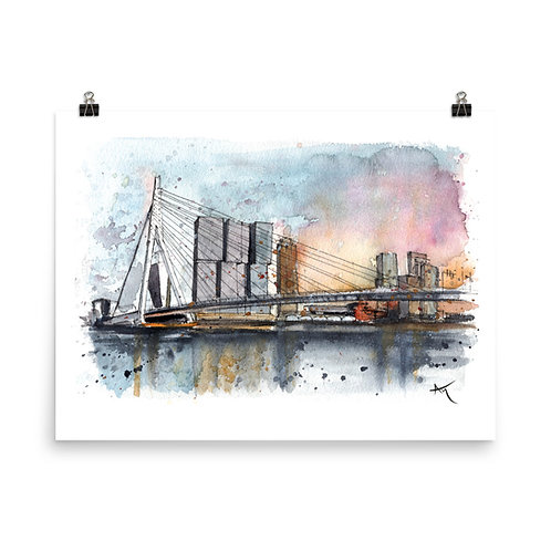 Rotterdam - Art Print