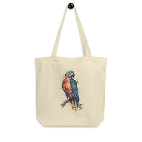 Macaw Parrot - Eco Tote Bag