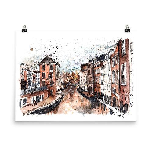 Utrecht - Art Print
