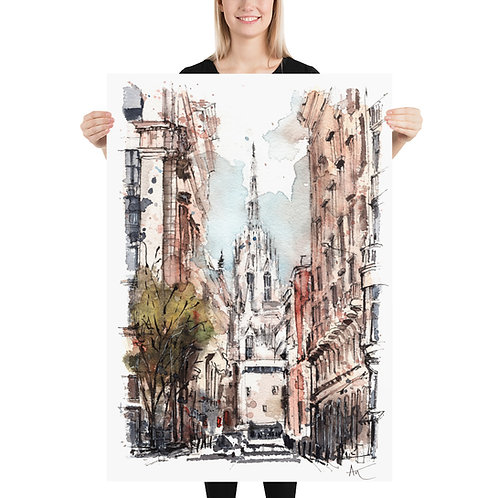 Barcelona - Art Print