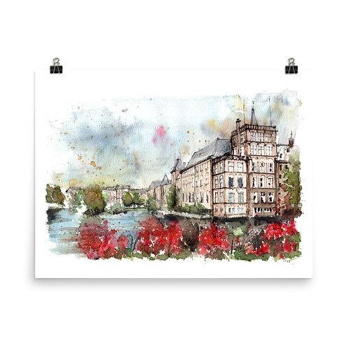 Binnenhof - Art Print