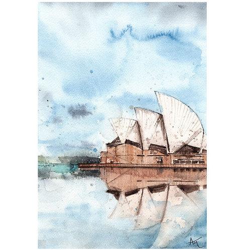 Sydney - Signedprint