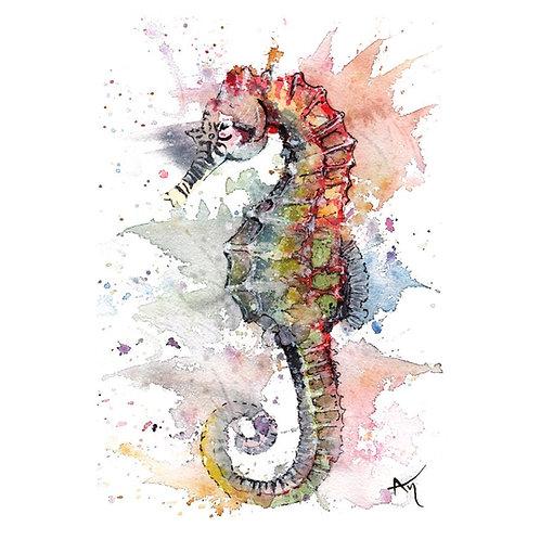 Seahorse -Original Painting