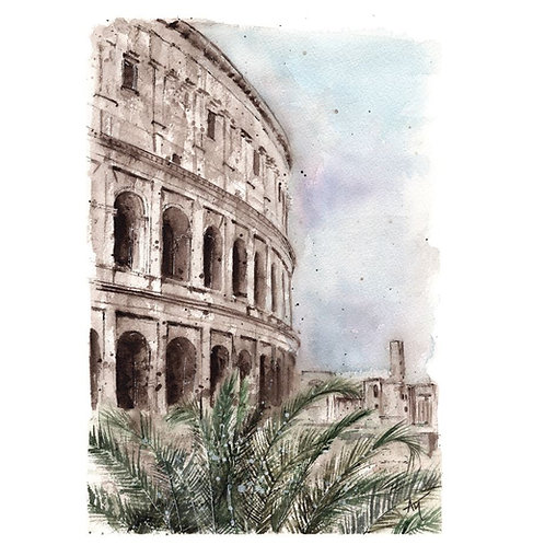 Rome - Signed print