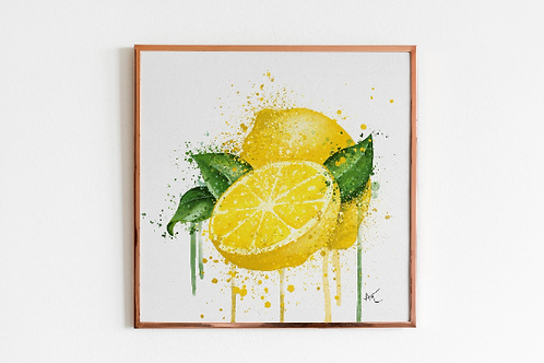 Lemons - Art Print
