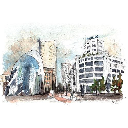 Eindhoven - Original Painting