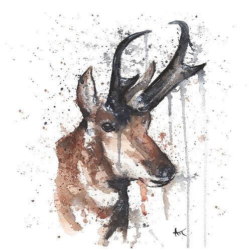 Deer - Original Painting