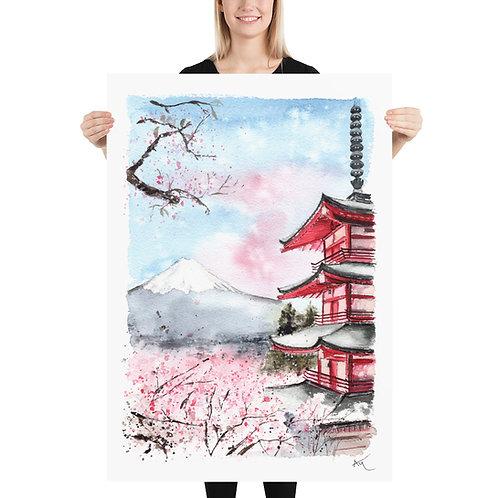 Mt. Fuji - Art Print