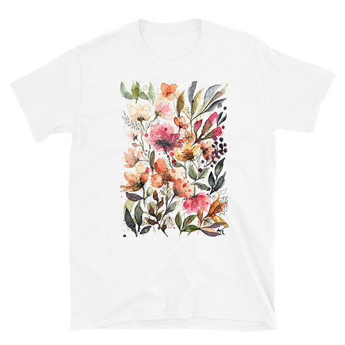 Colorful flowers - Short-Sleeve Unisex T-Shirt