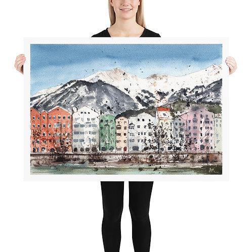 Innsbruck - Art Print