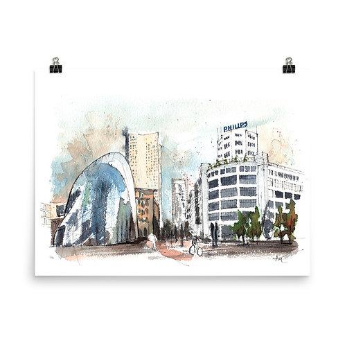 Eindhoven - Art Print