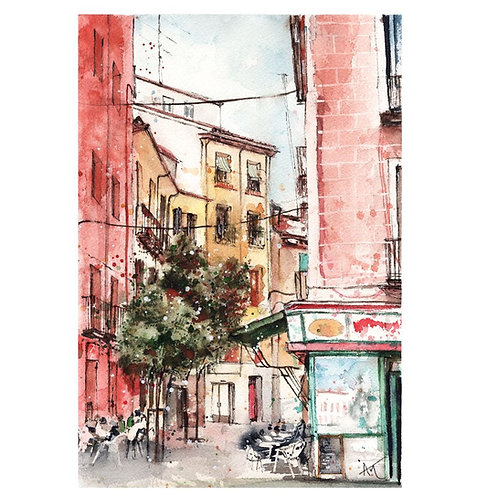 Madrid - Signed print