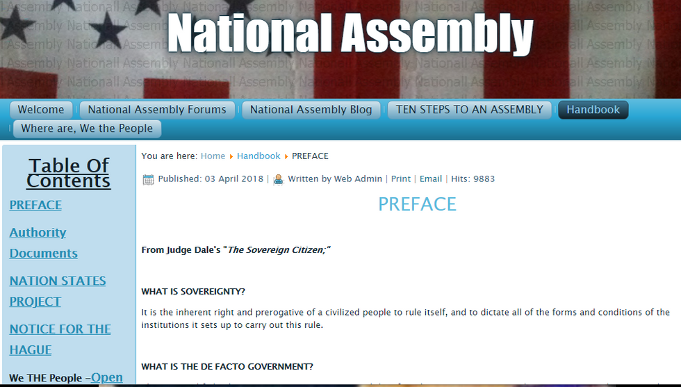 National Assembly Now Operating In Alaska JOIN!