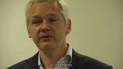 Julian Assange, 30 years ago