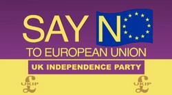 UKIP- Say NO to EU