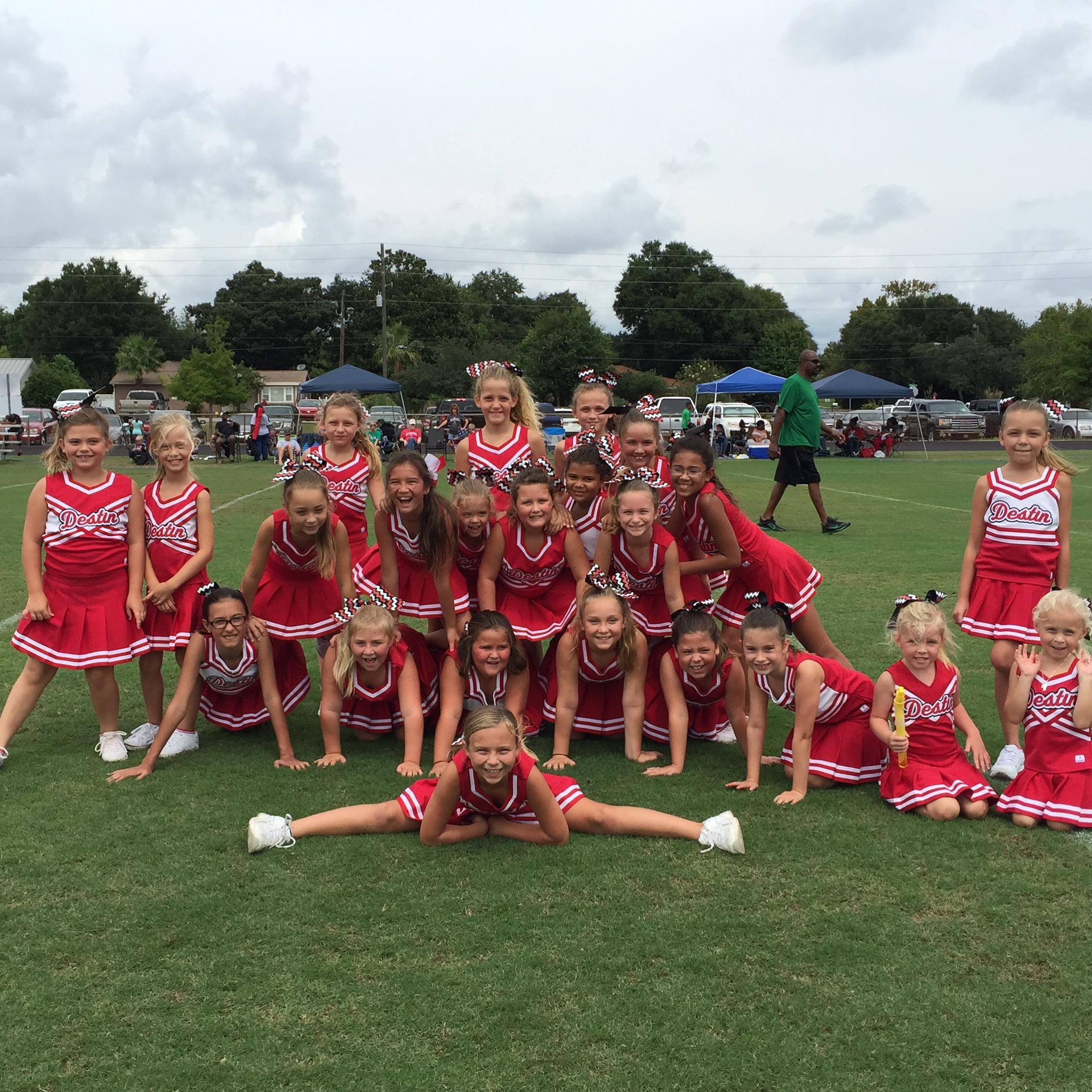 The 2015 Destin Cheer Junior Squad