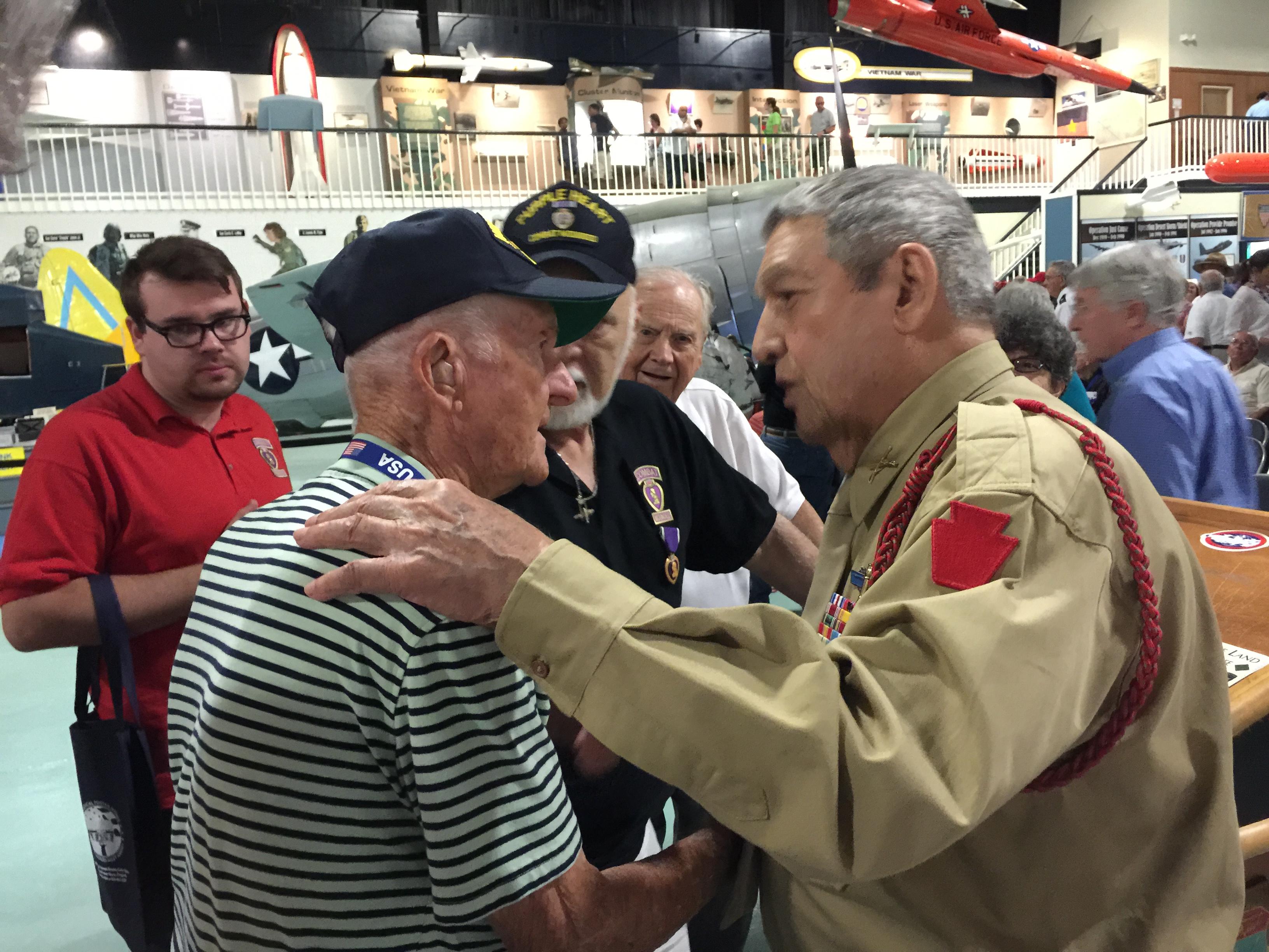 WWII Veteran Lt. Col Sam Lombardo