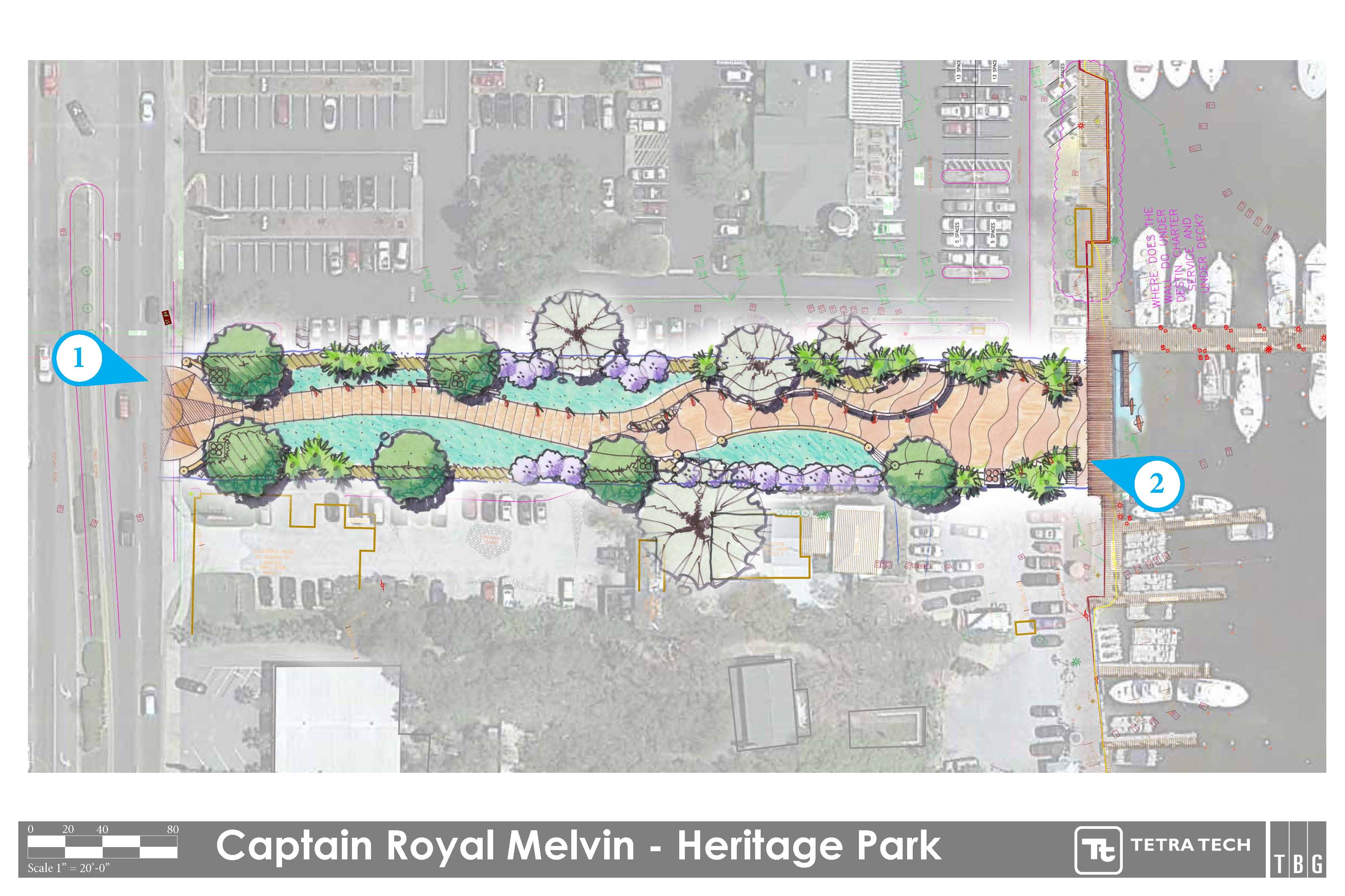 Heritage Park Plan