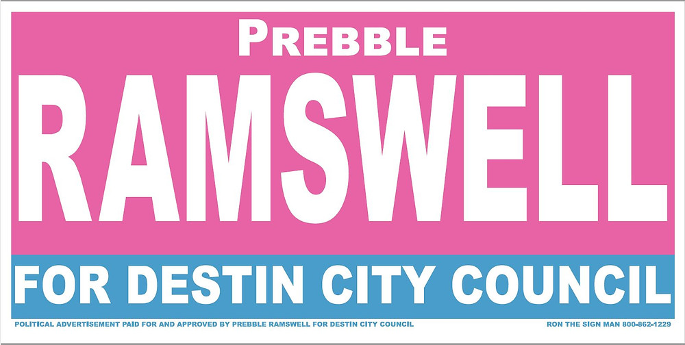 Ramswell for Destin City Council