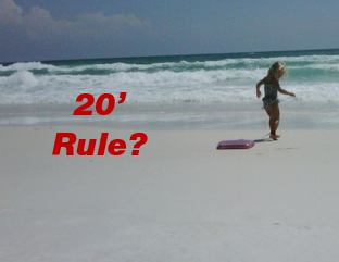 20-foot rule