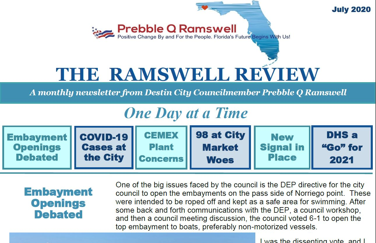 July 2020 Ramswell Review