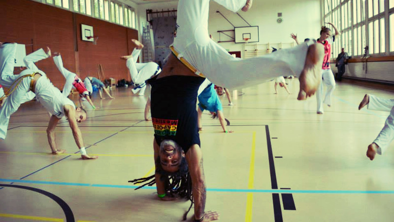 I Evento Afro Ritmo Capoeira em Moscow