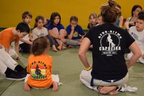 Зимние спортивно-тренировочные сборы школы Capoeira Sem Fronteira
