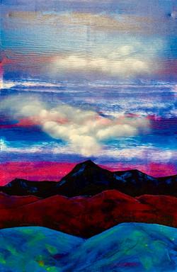 """""""Mountains. Cloud. Blue 2"""""""