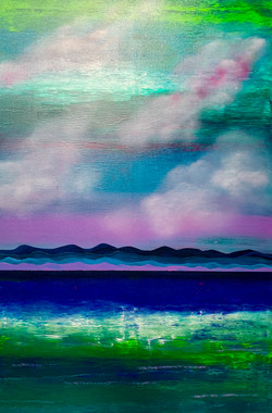 """""""Water. Mountains. Cloud. Violet 2"""""""
