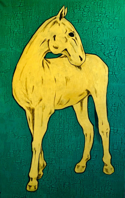 """""""The horse. Gold"""""""