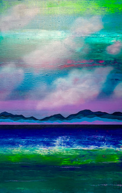 """""""Water. Mountains. Cloud. Violet 1"""""""
