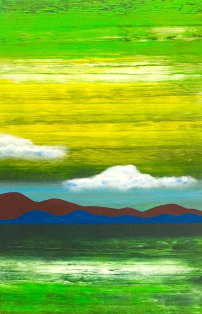 """Mountain. Water Green"""