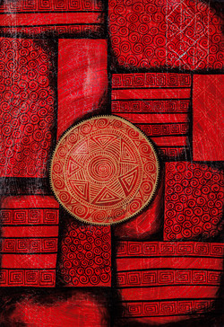 Red Steppen Mandala