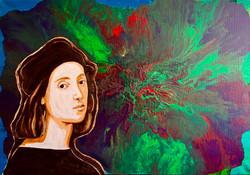 """Dedication to the Master. Raphael"""