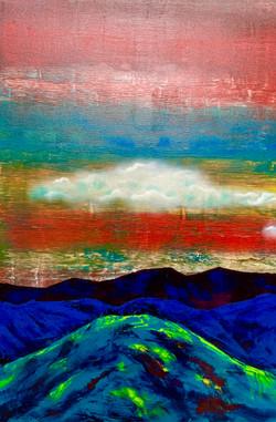 """Mountains. Cloud. Green 2"""