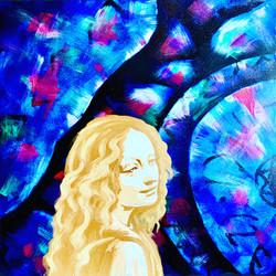 """Angel 1. Dedication to the Master. Leonardo"""