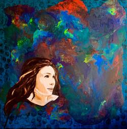 """Woman in art. Mayra Kerey"""