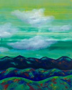 """Mountains. Green"""
