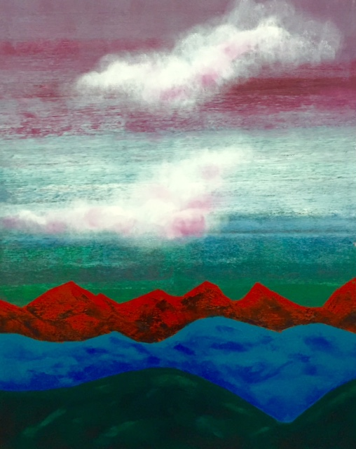 """Mountains. Red"""