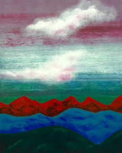 """""""Mountains. Red"""""""