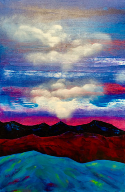 """""""Mountains. Cloud. Blue"""""""