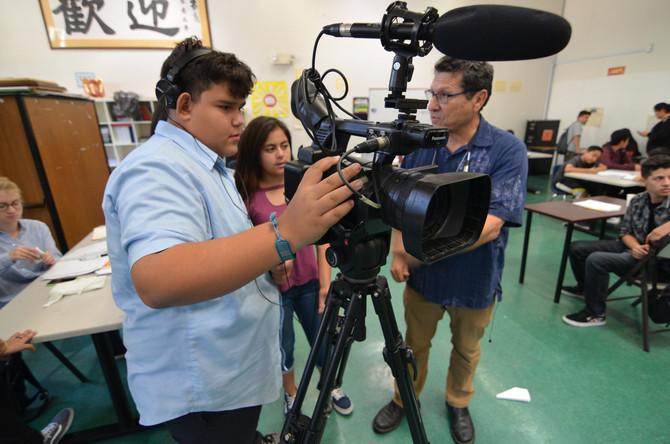 Media Makers Launches High School Digital Media Program