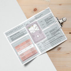 Infographic Diabetes TriFold