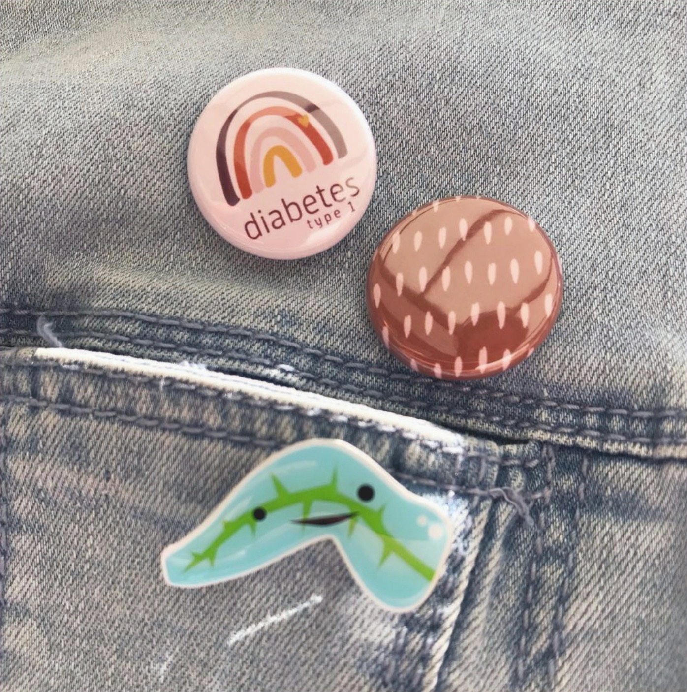 Buttons Diabetes