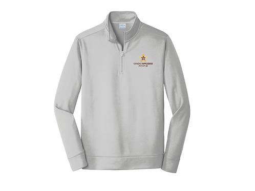 Quarter Zip Pullover Sweatshirt
