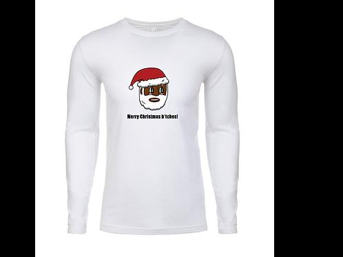 Black Santa Long Sleeve