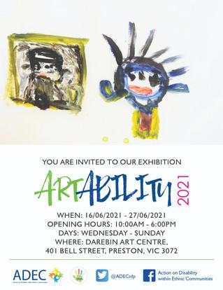 ArtAbility 2021 Exhibition