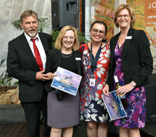 Our ED Keith Hitchen, the MHCC Lynne Coulson Barr, ADECs chair Sophie Holmes and the Deputy DSC Miranda Bruyniks. Thank you for all your support!!