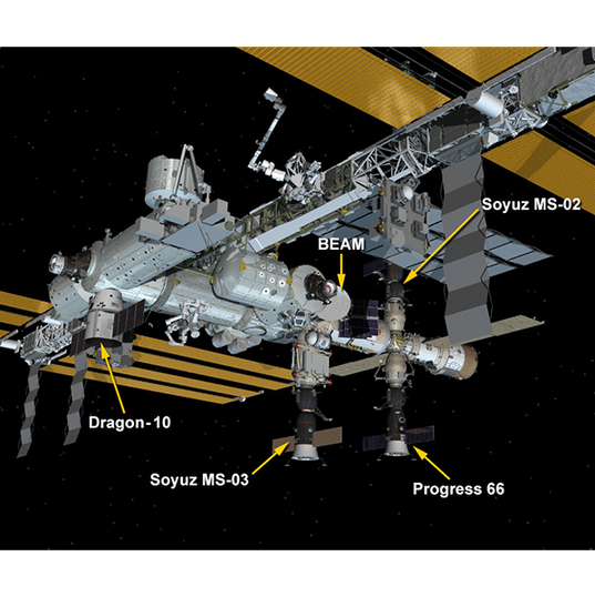 With latest ISS docking, SpaceX settles into its supply ship role