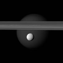 Enceladus ocean jets spew hydrogen: Hint of life?
